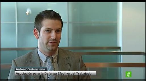 Entrevista Antonio Valenciano. La Sexta Noticias