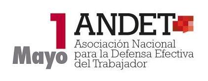 Logo ANDET. 1 MAYO
